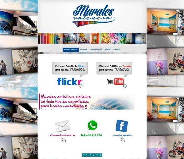 Página Murales Valencia