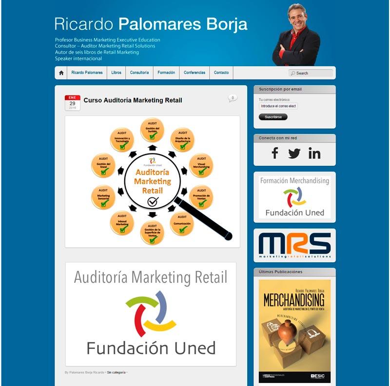 Página Ricardo Palomares