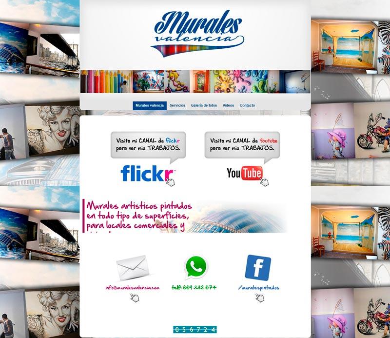 Mockup murales valencia