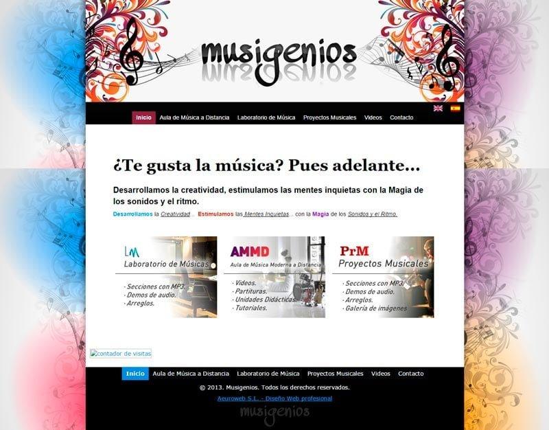 Mockup musigenios