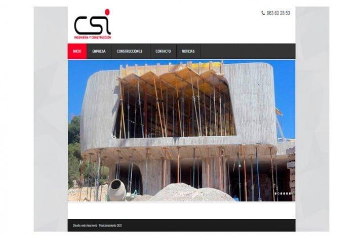 Página CSIconstrucciones