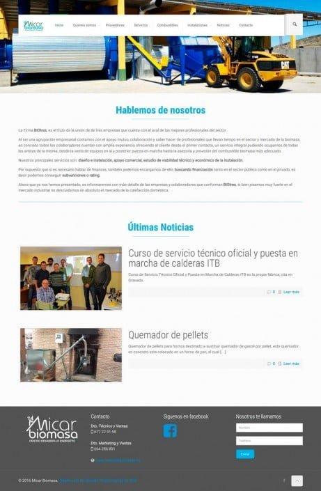 Página Micar-biomasa