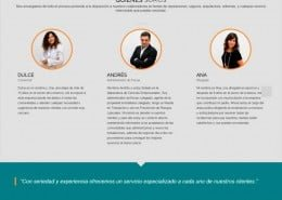 Página Perez Administradores