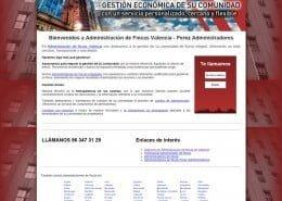 Pagina Administrador fincas Valencia