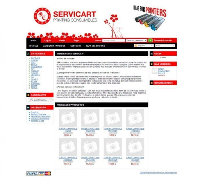 Pagina Servicart