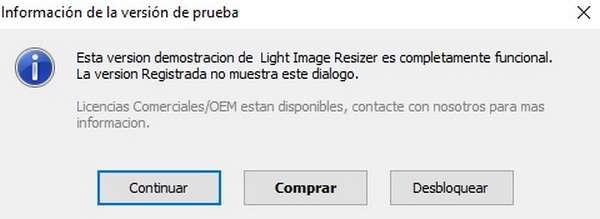 reducir el tamaño de las imágenes mediante Light Imagen Resizer