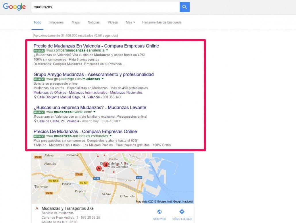 anuncios google