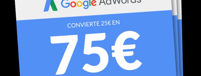 cupón Google Adwords
