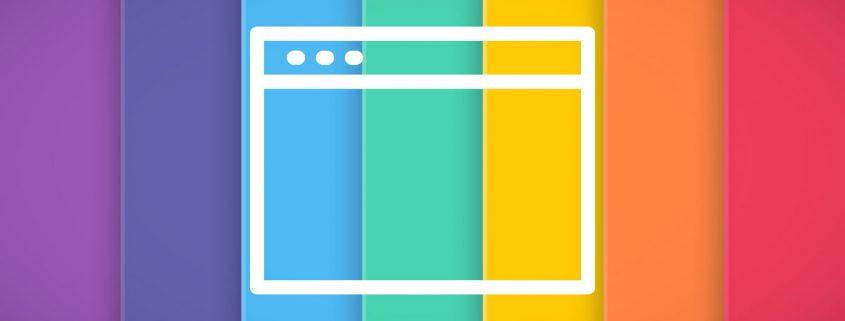 significado colores web