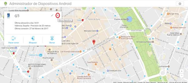 captura mapa android