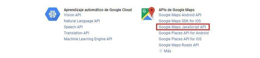 Google Maps biblioteca