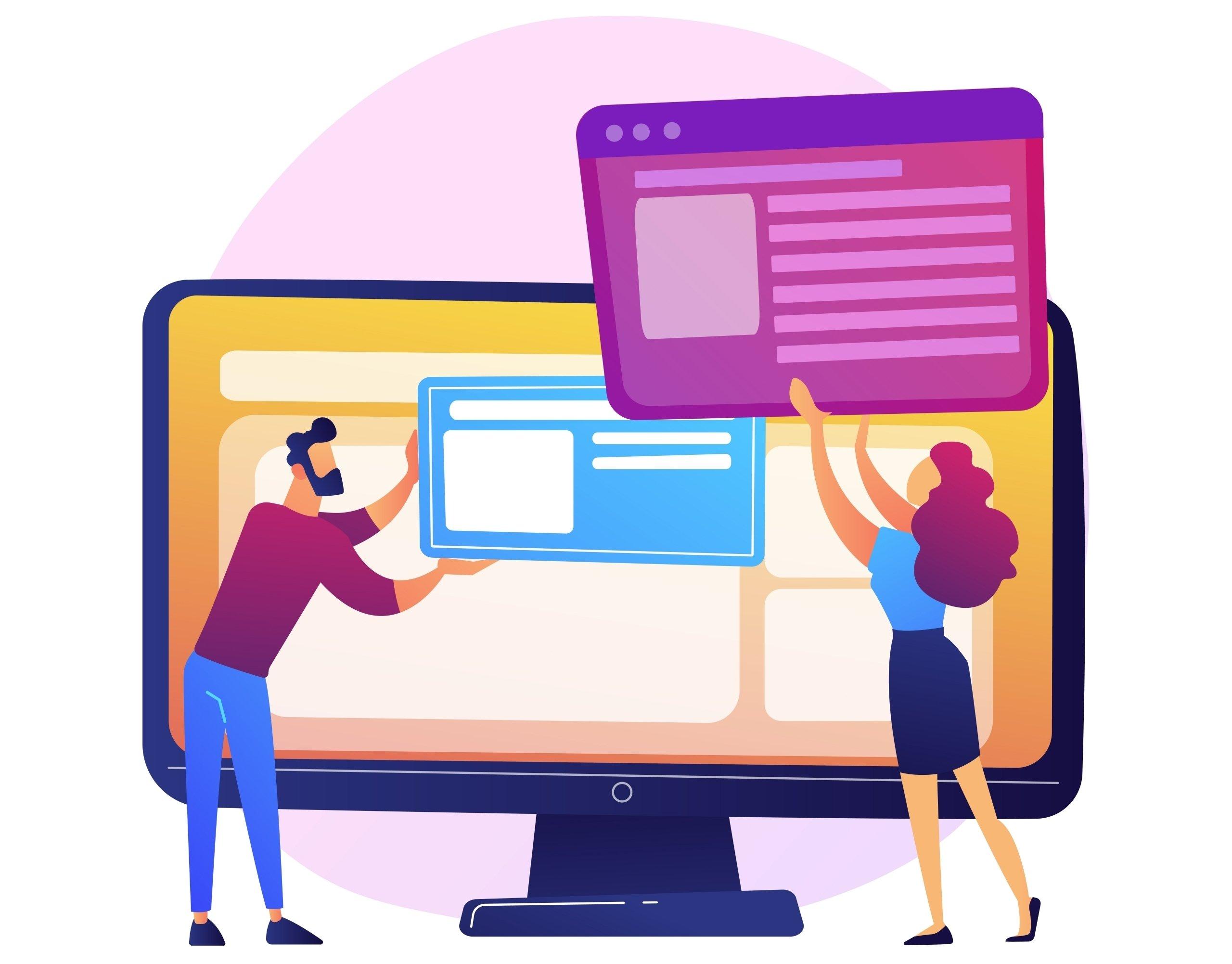 diseño agradable web
