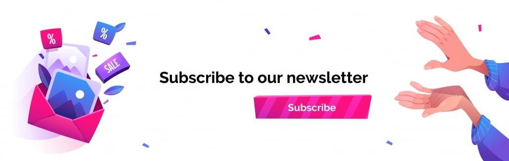 Botón suscribir a newsletter