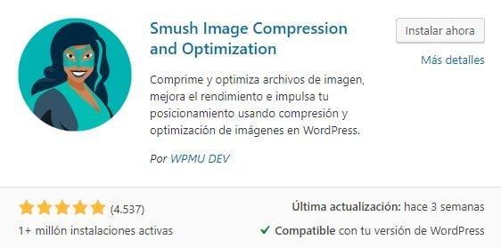 Smush Image