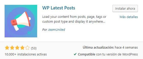 WP Latest Posts