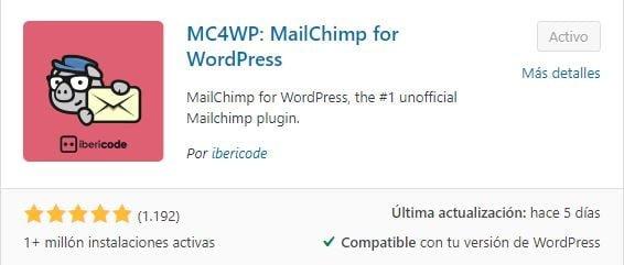 malichimp wp