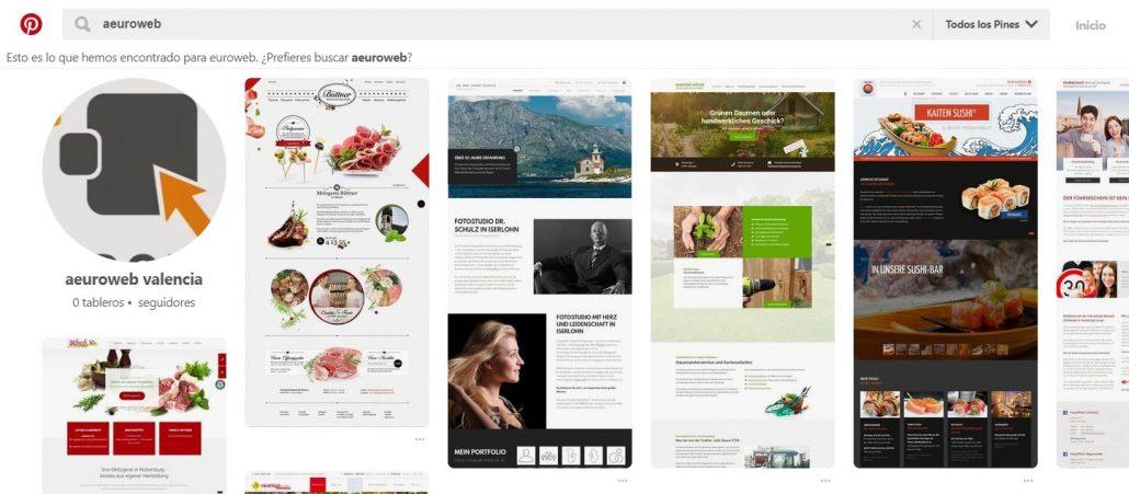 Pinterest es un motor de búsqueda