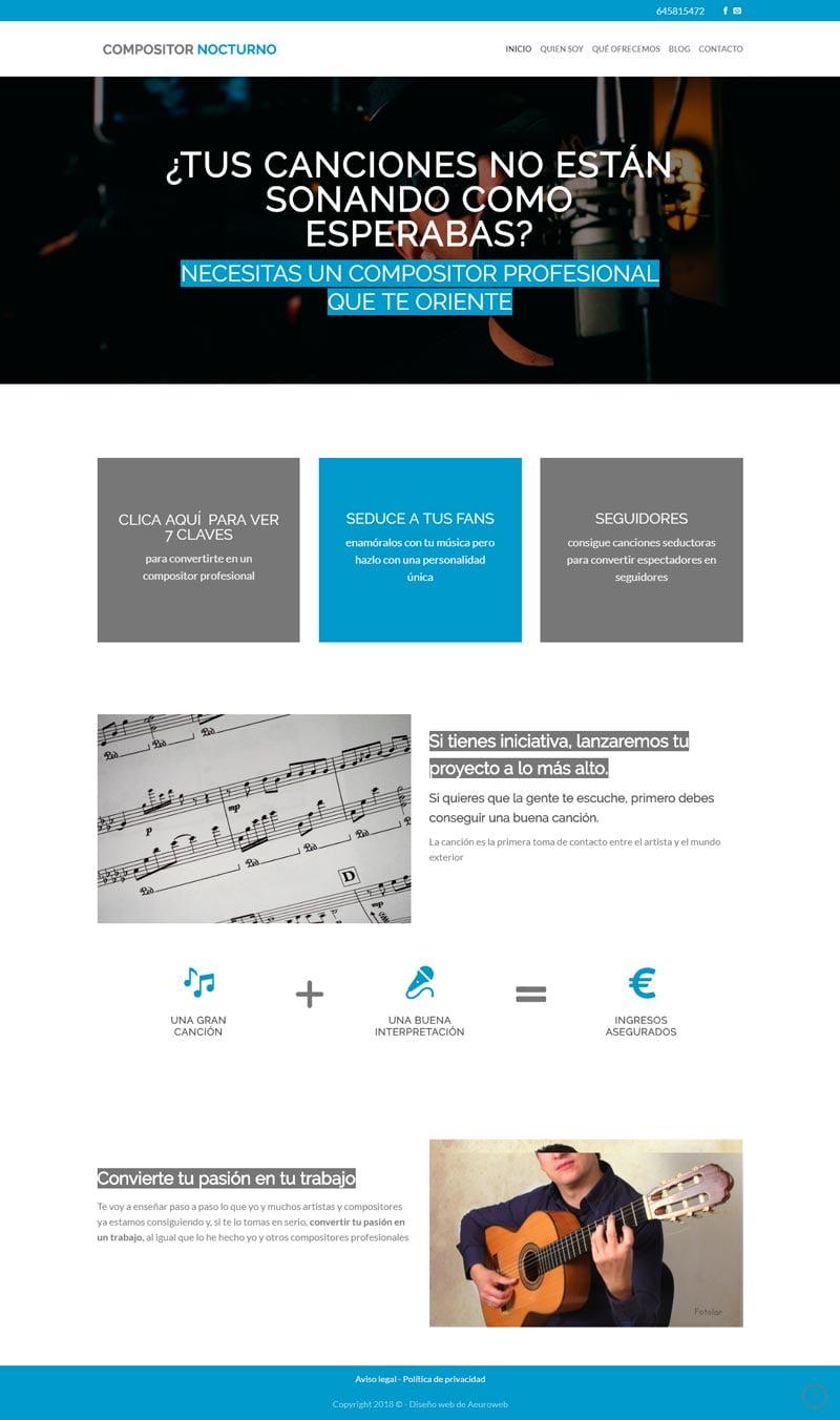 inicio-compositor-nocturno-portfolio-aeuroweb