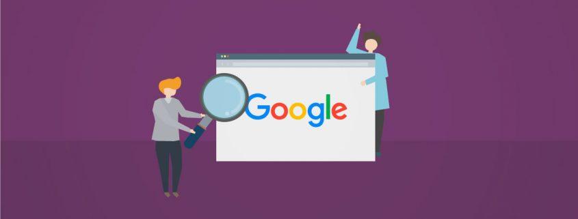 Por que mi pagina web no aparece en Google