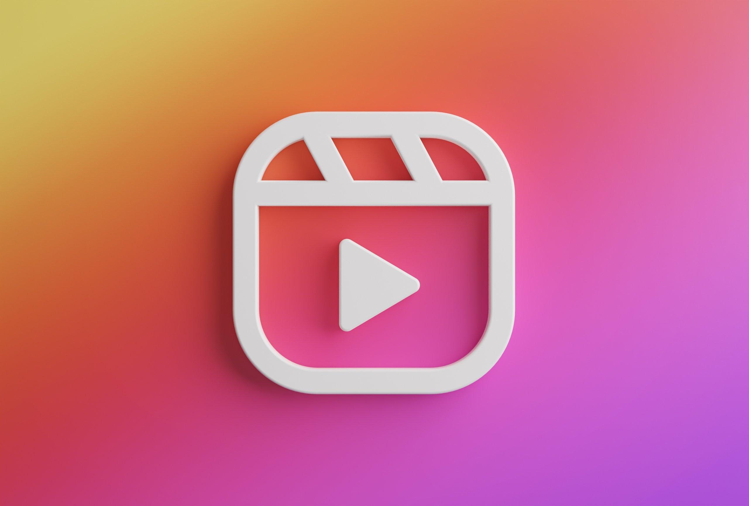 logo instagram reels