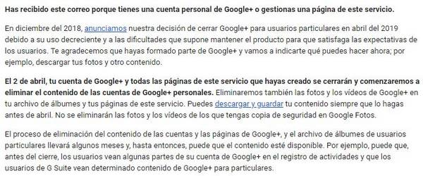 google plus descargar