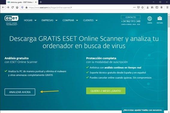 analizar malware ESET