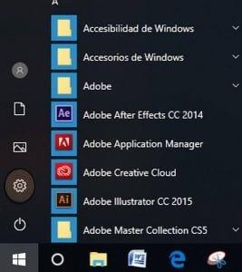 Configuración de Microsoft