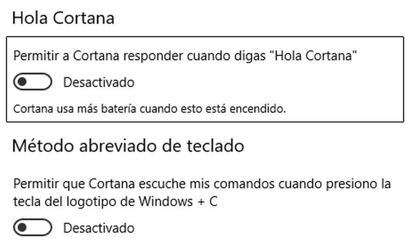Activar a Cortana en Microsoft