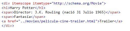 Introduciendo la etiqueta itemtype y itemscope de Schema.org