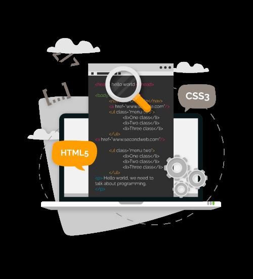 creacion y mantenimiento de paginas web