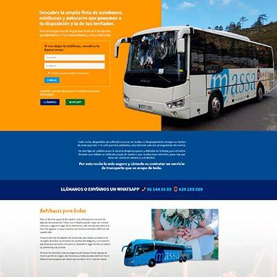 diseño web massabus