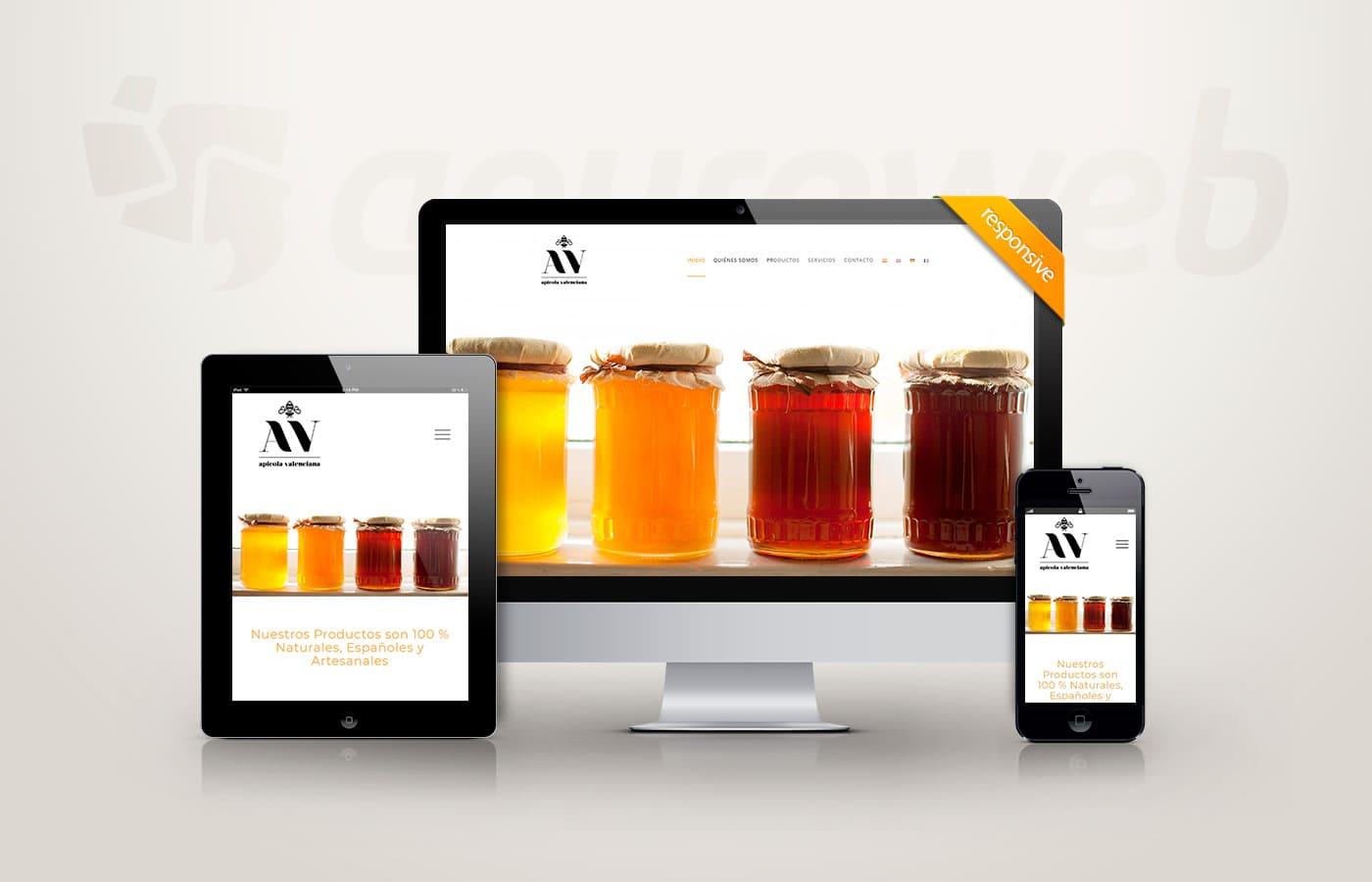 página web apicola