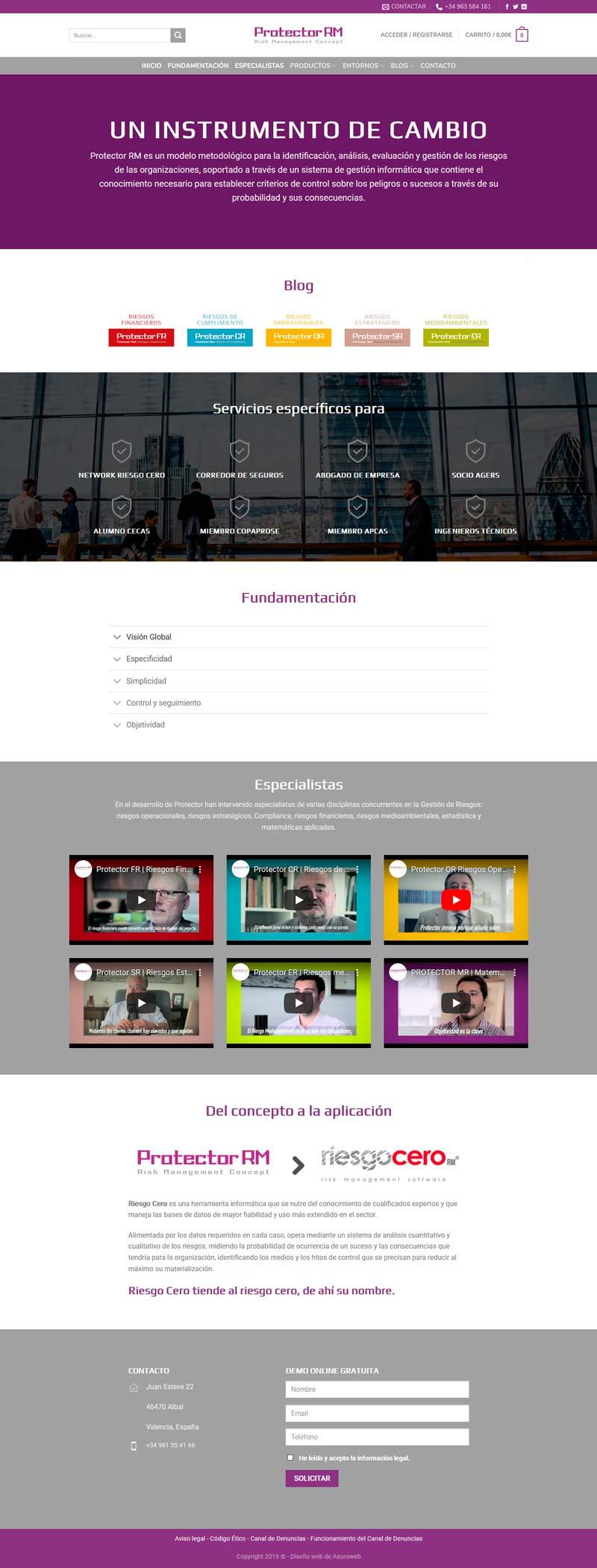portfolio-aeuroweb-protectorriesgocero-inicio