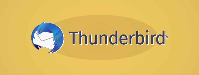 cómo configurar thunderbird