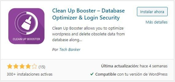 Clean Up Booster