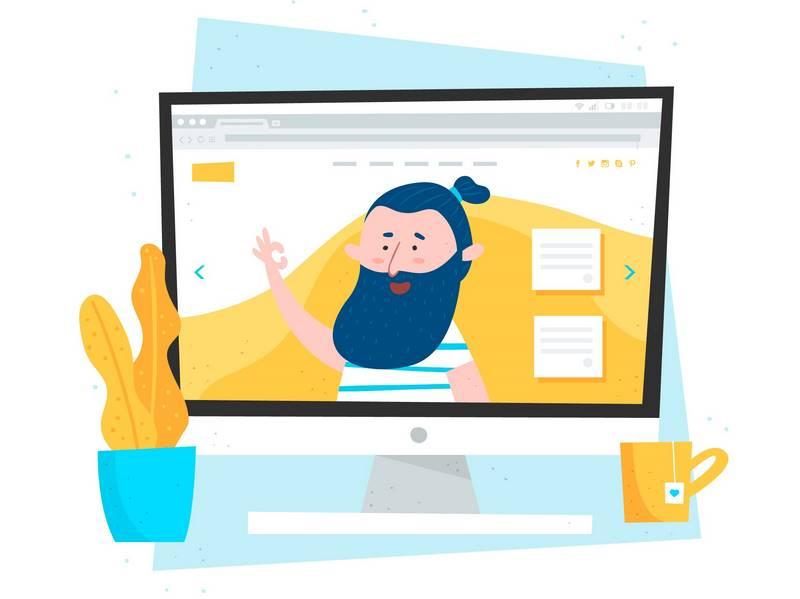 Página web hecha con diseño web profesional