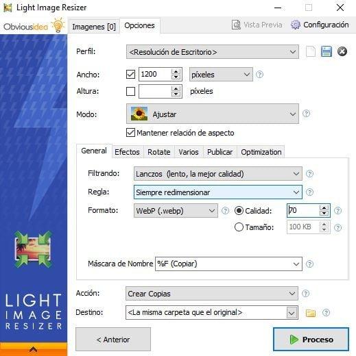 light image resizer webp