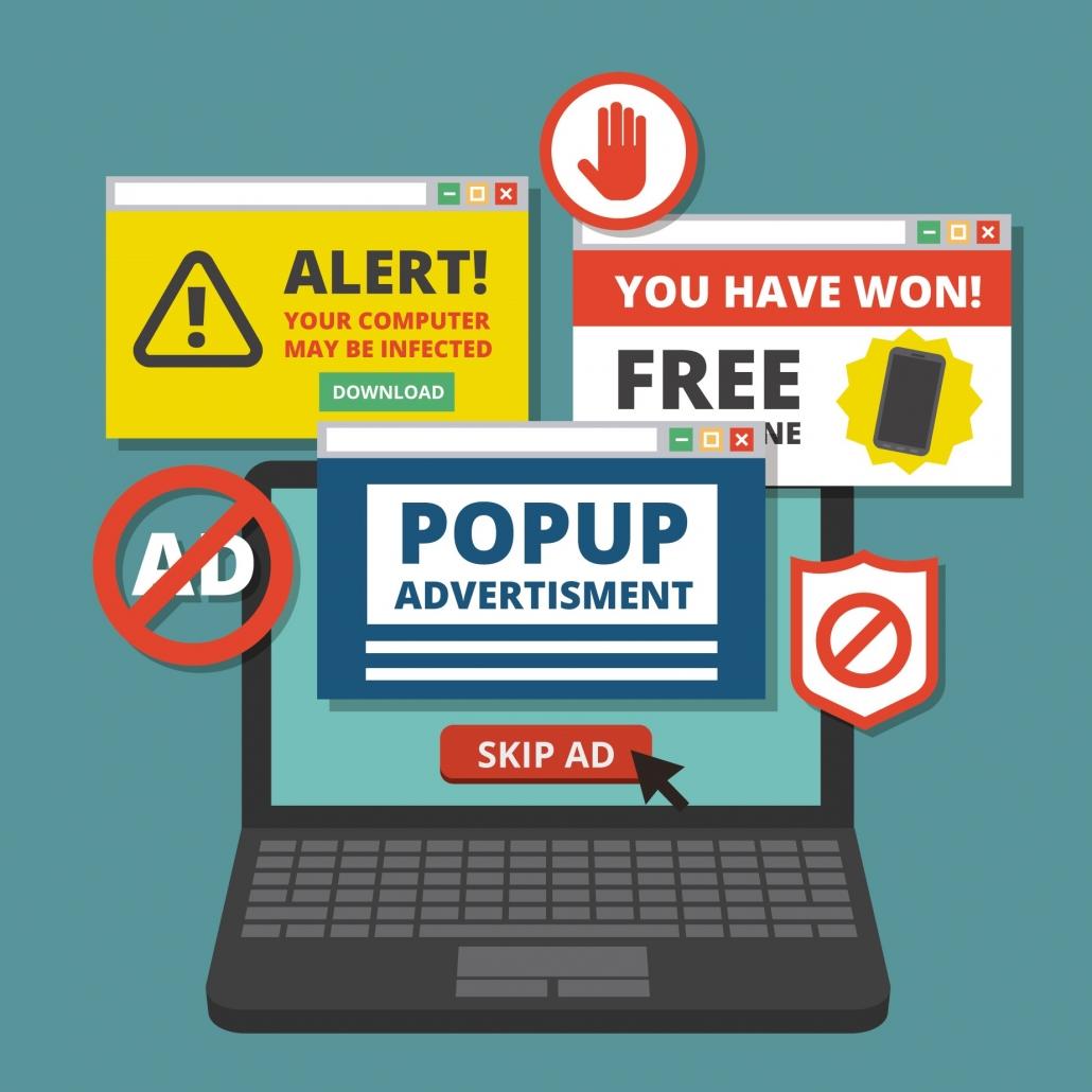 Ilustración de varios correos en la bandeja de spam