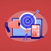 Ilustración de herramientas de escucha activa en redes sociales