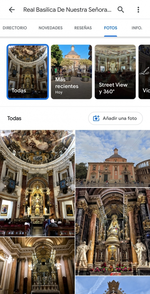 Cómo subir fotos a Google maps sin dejar reseñas